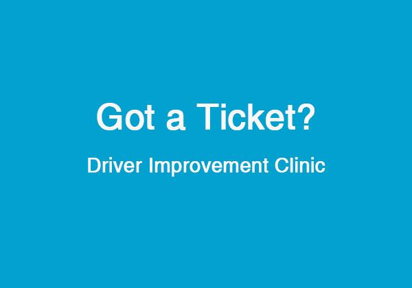 DCC8 Driver Improvement Class